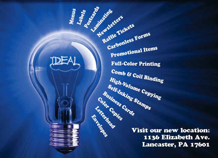 image of light bulb with services list